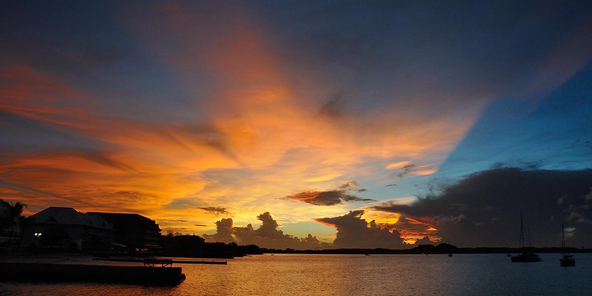 Sunset..sur la baie
